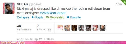mtv tweet twitter vmas 2012