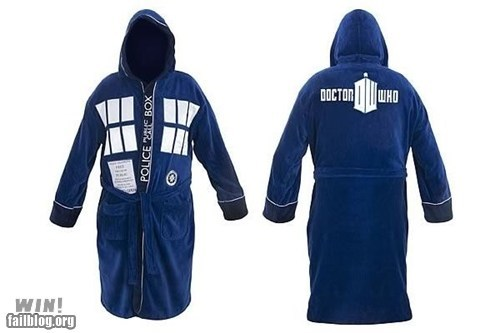 bath robe classy design doctor who nerdgasm - 6568443904