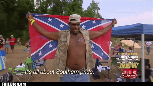 Awkward confederate flag flag racist screencap - 6568496896