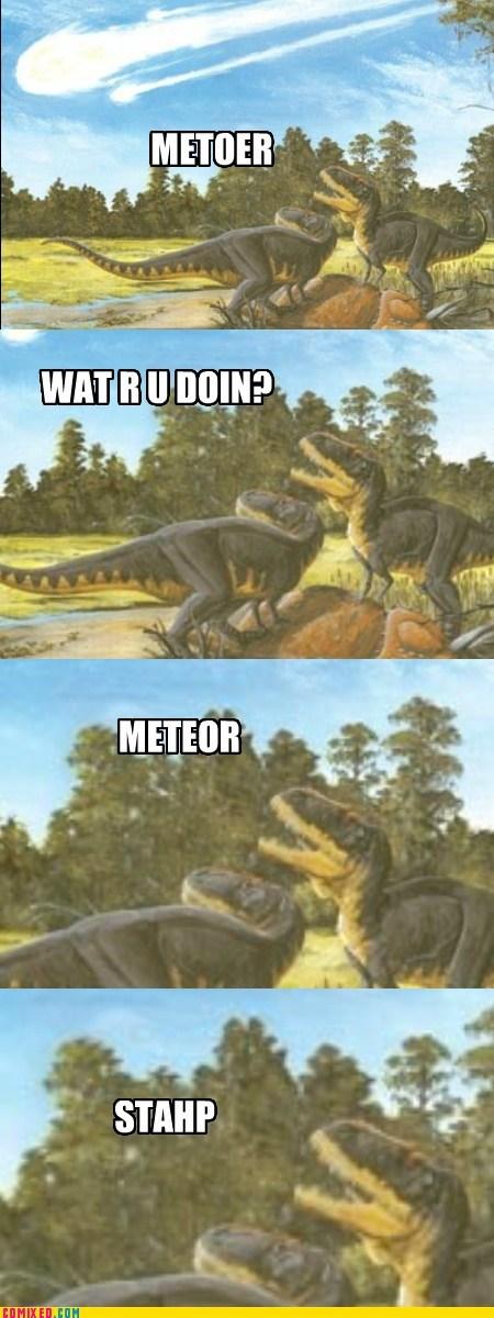 dinosaur,meteor,staph