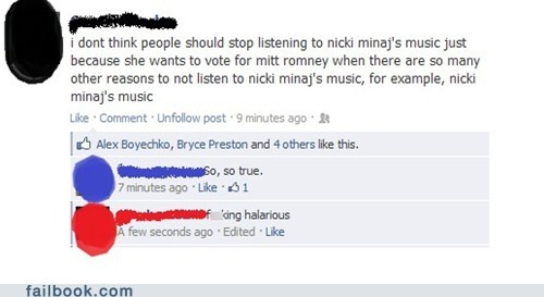 election 2012 Mitt Romney nicki minaj