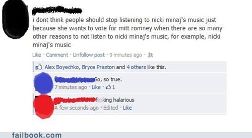 election 2012,Mitt Romney,nicki minaj