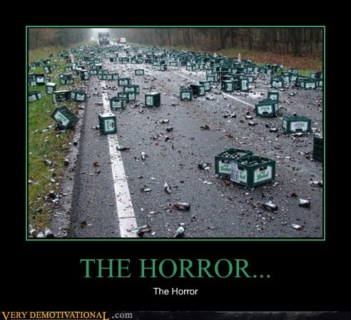 beer broken horror
