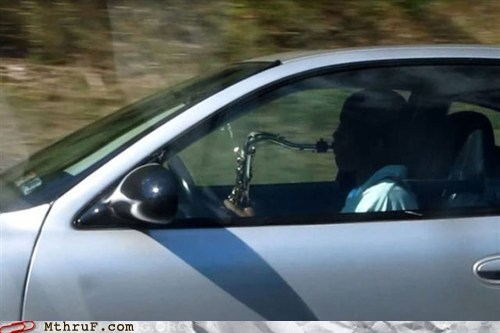 sax,saxophone,texting while driving