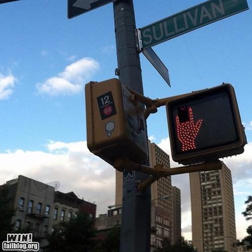 crosswalk hacked irl metal stop sign - 6568893696