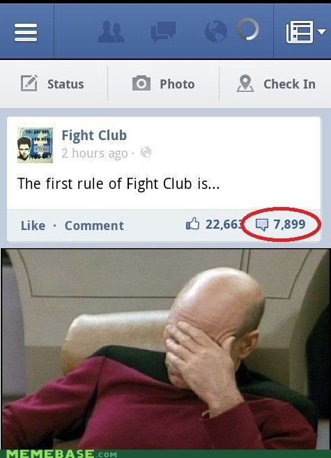 facebook,fight club,picard,seriously guys