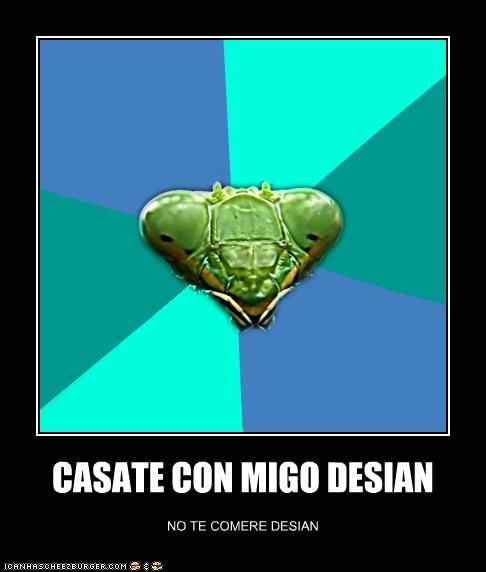 CASATE CON MIGO DESIAN NO TE COMERE DESIAN