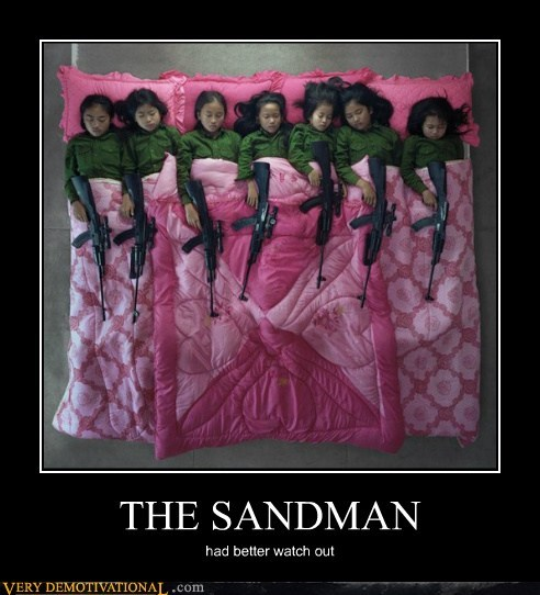 bed guns kids sandman - 6569626624
