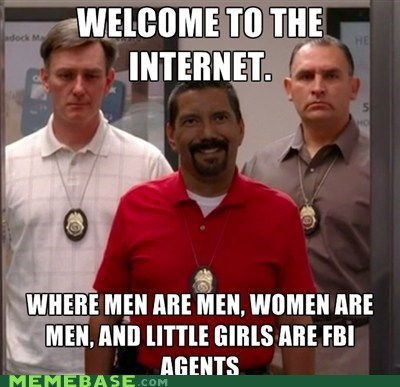 breaking bad FBI girls internet its a trap women