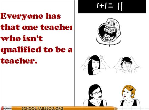 how do i math not qualified teachers that one teacher - 6569719552