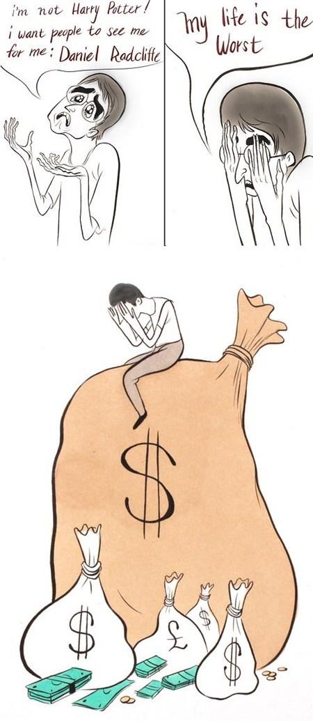 Daniel Radcliffe Harry Potter money Movie - 6569758464