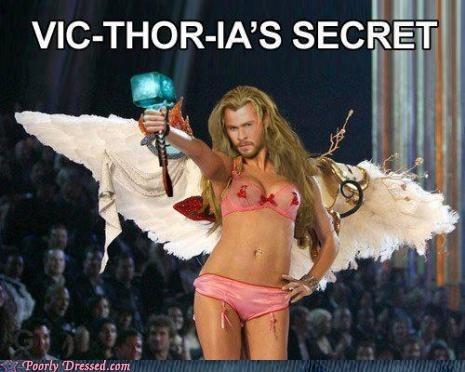 Thor,victorias secret