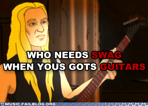 Error: Guitars ARE Swag