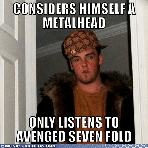 avenged sevenfold metalhead scumbag stece - 6570013184
