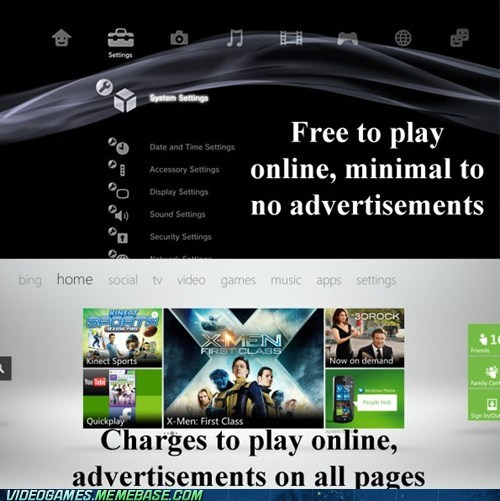 advirtisements dashboard playstation xbox - 6570082304