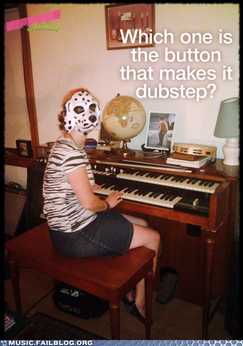 dubstep mask organ