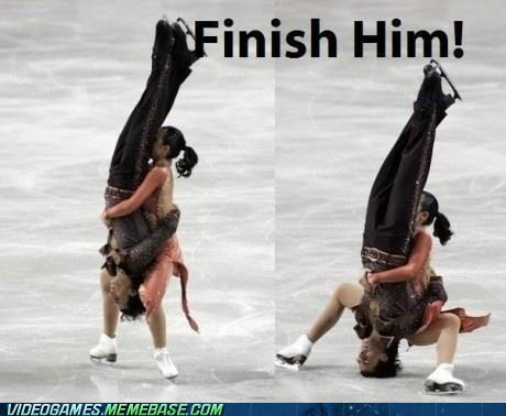 ice skating Mortal Kombat piledriver uh oh - 6570136832