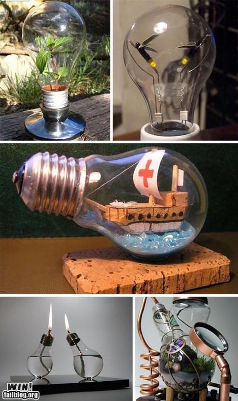 design light bulb terrarium - 6570224128