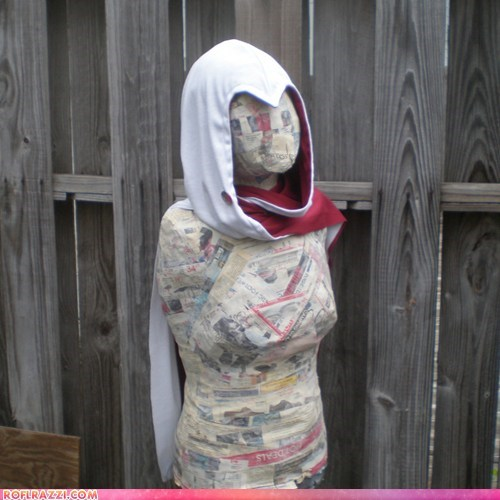 hood scarf assassins creed video game style fashion - 6570382336