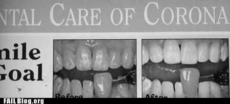 advertisement,Before And After,business,dentist,newspaper