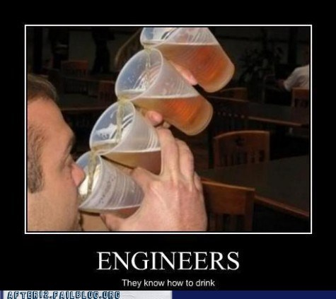 engineers genius knowing how to drink - 6570491648