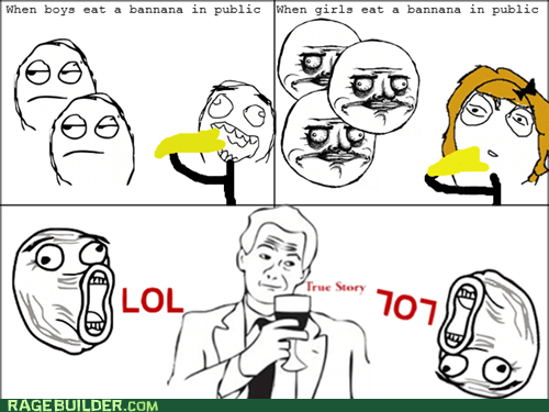 me gusta,bananas,true story