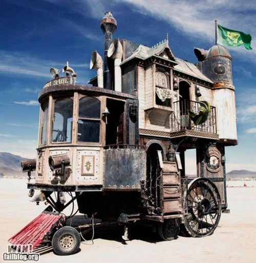 burning man design DIY mobile home - 6570652160