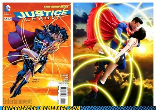 justice league sexy times superman wonder woman - 6570674944