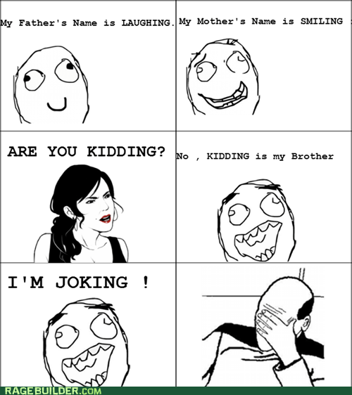 joking brother kidding family laughing - 6570983936