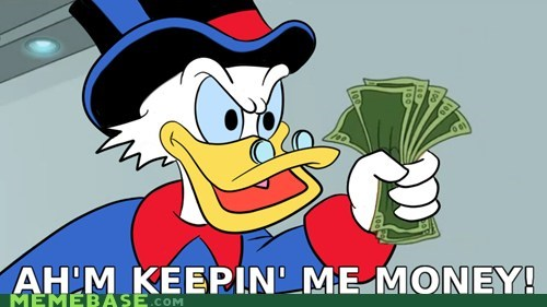 futurama scrooge mcduck take my money - 6571460352