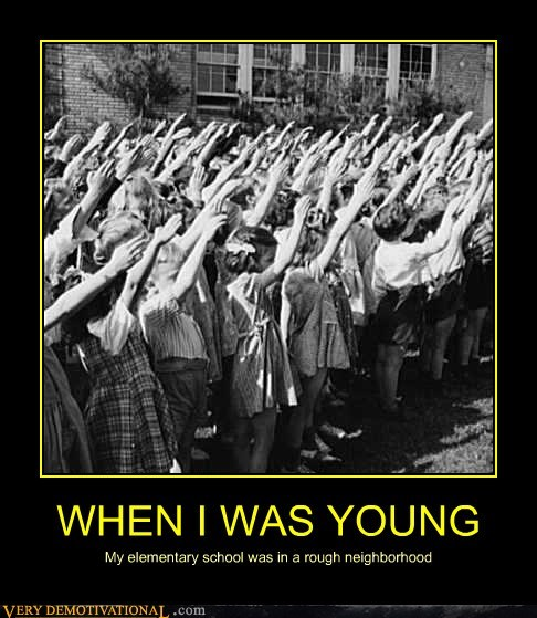 hitler youth rough neighborhood young