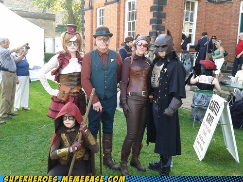 aweosme batman costume Steampunk - 6572184576