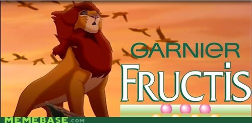 disney,fructis,hair,lion king,shampoo