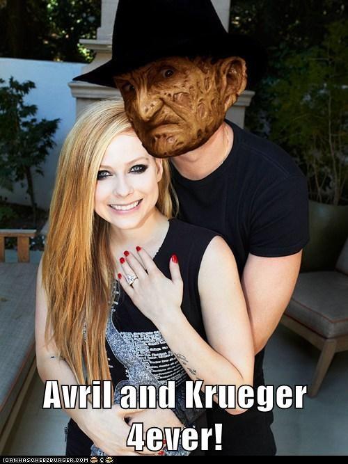 Avril and Krueger 4ever!