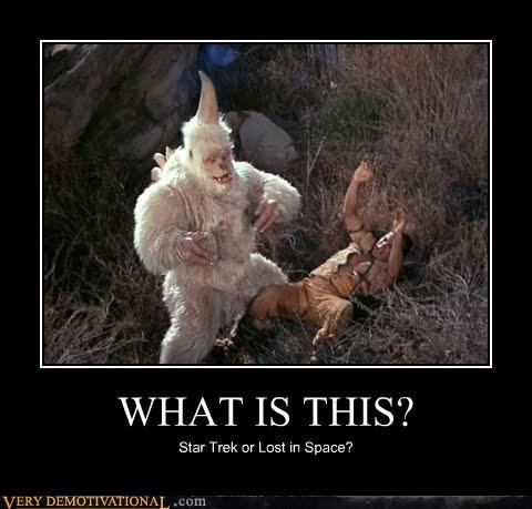 Lost In Space monster Star Trek wtf - 6573040384