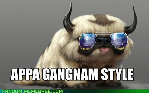 appa Avatar the Last Airbender gangnam style - 6573115904