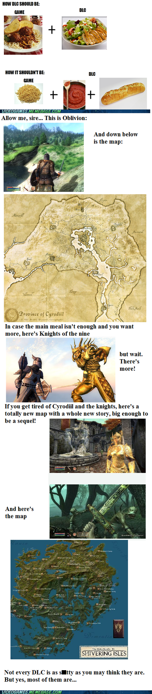 bethesda DLC elder scrolls good guy meme - 6573183232