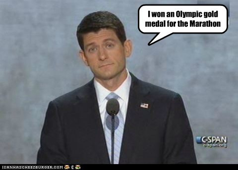 12 parsecs gold medal lying marathon olympics parsecs paul ryan time