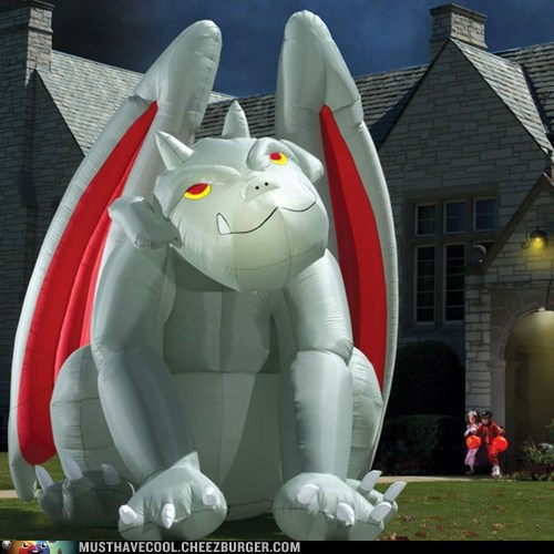 art gargoyle giant inflatable yard - 6574049280
