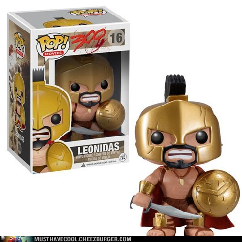 300 figurine leonidas Movie vinyl