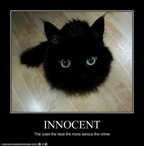 INNOCENT The cuter the face the more serous the crime