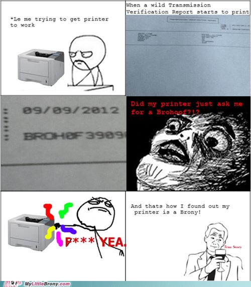 amazing brohoof printer rage comic serial number - 6574134784