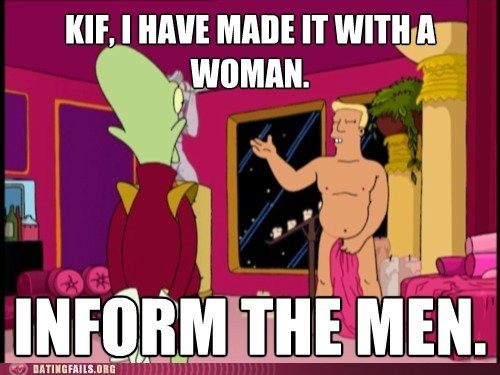 futurama inform the men kif zapp brannigan - 6574603264