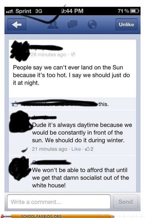 Astronomy,daytime,landing on the sun,problem solved,science