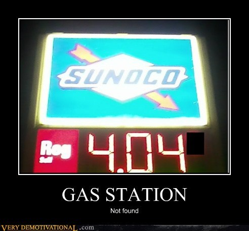 GAS STATION Not found