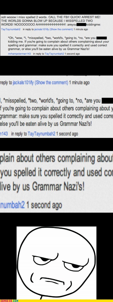 Grammar Nazi's