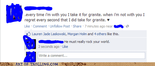 facebook granite puns spelling - 6575102208