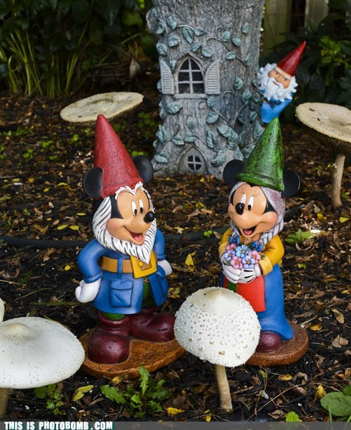 disney garden gnome outside SOON - 6575131136