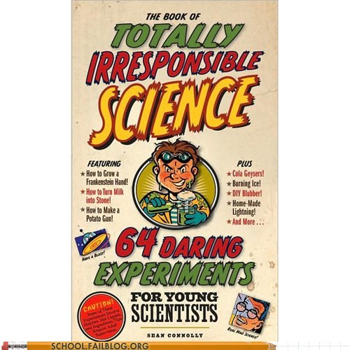 bargain books experiments irresponsible science kids these guys science - 6575403008