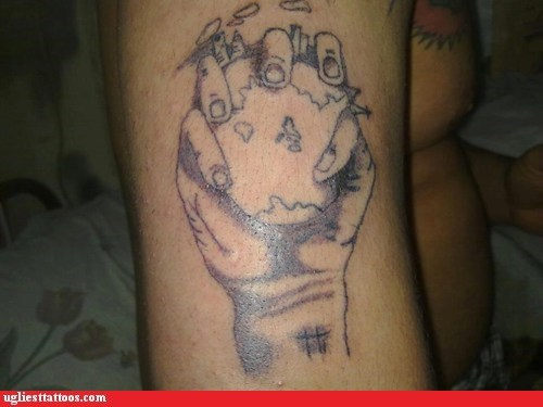 arm tattoos,earth,hand